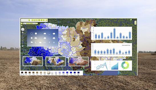 Аналіз погодно-кліматичних даних